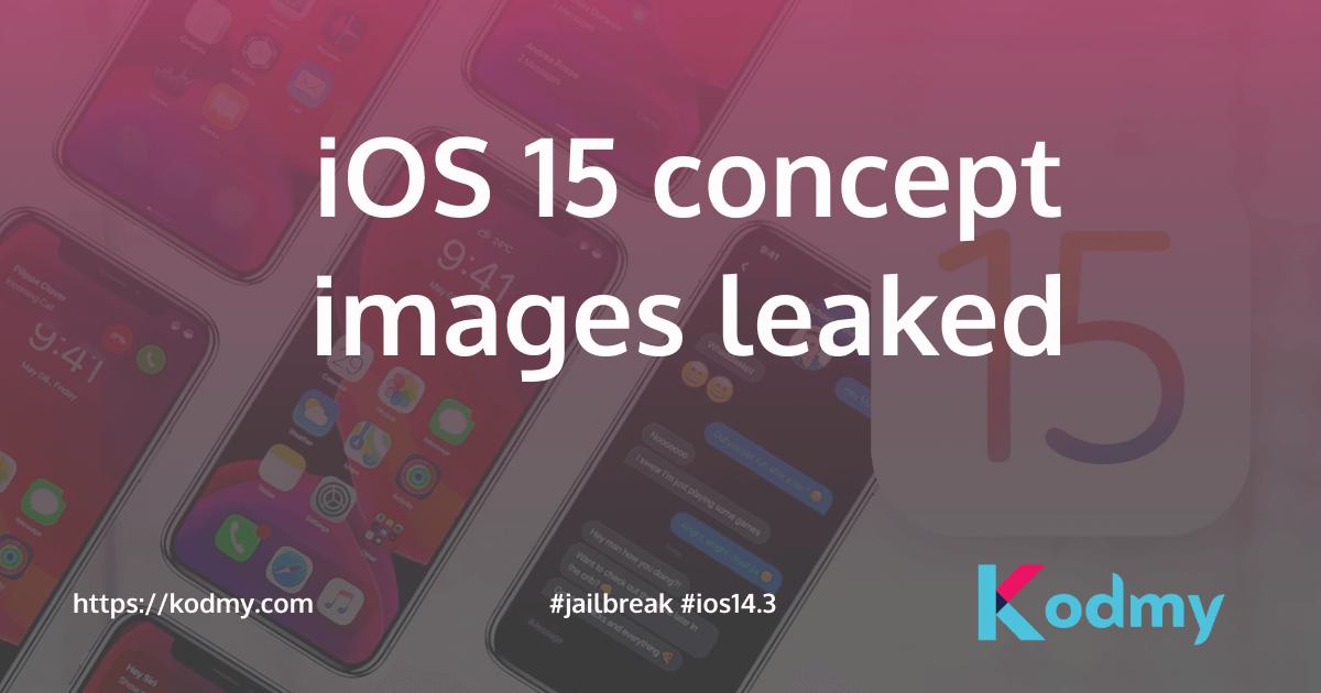 iOS 15 concept images
