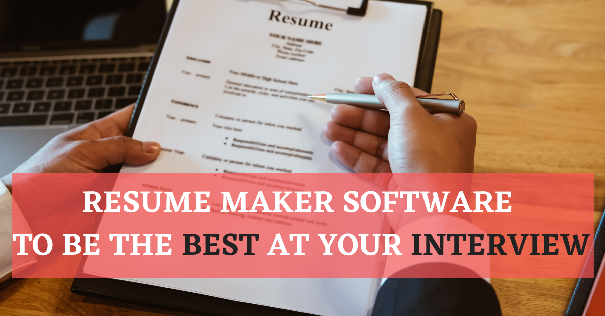 latest resume software featured image