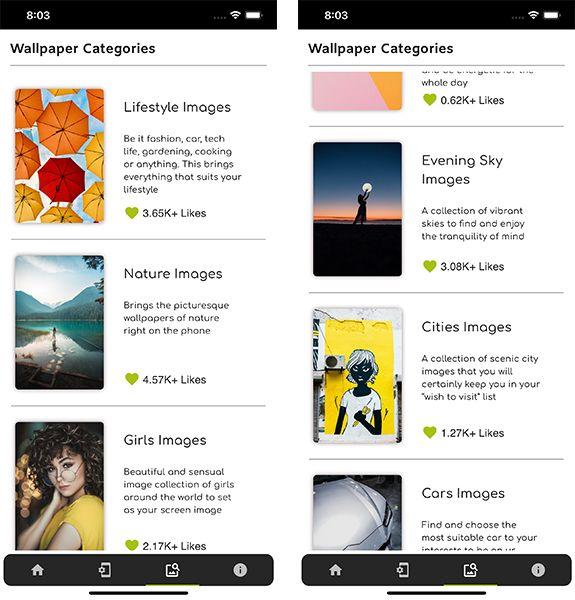 colorup wallpaper categories