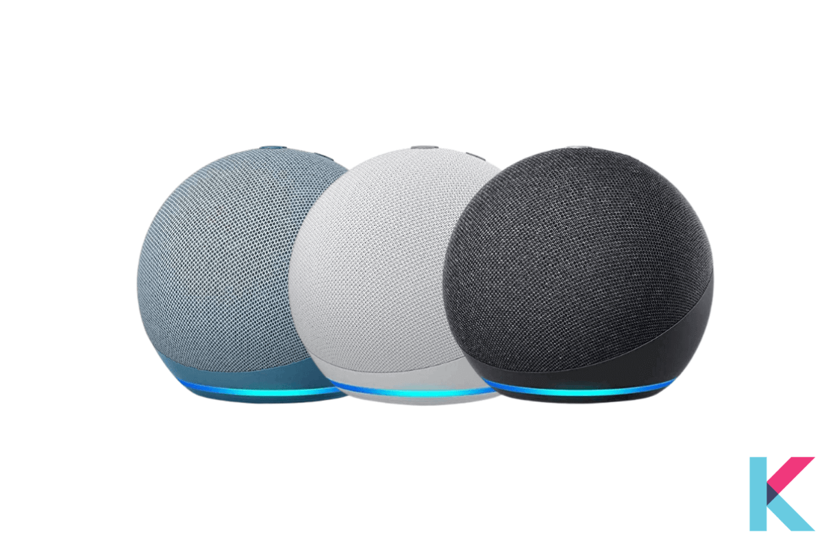 However, the newest version of the Amazon Echo Dot is Echo Dot 4th Gen. It is with sleek, compact design and balanced bass for a full sound. It is very different from the previous one.