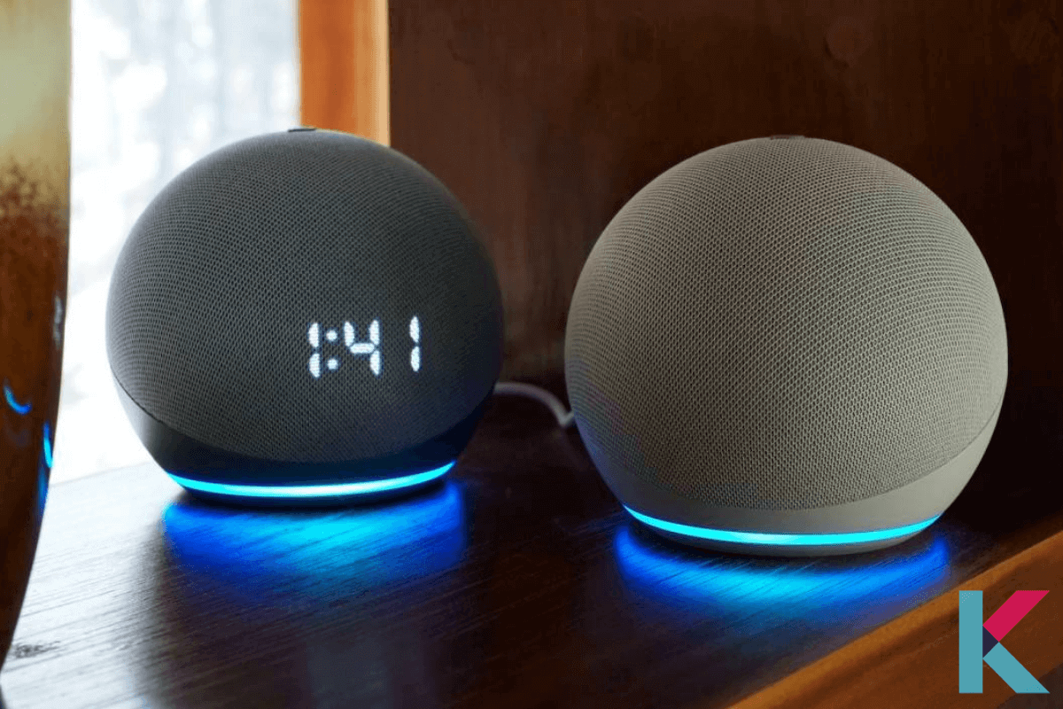 the newest version of the Amazon Echo Dot is Echo Dot 4th Gen. It is with sleek, compact design and balanced bass for a full sound. It is very different from the previous one.