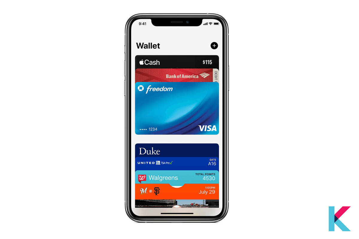 Apple Wallet is an app on Apple Watch and iPhone. It conveniently organizes your debit and credit cards, student ID, car keys, and more all in one place. With the Apple Wallet app, they set out to replace your physical wallet.