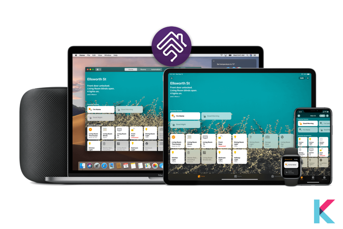 Apple Home App is only available on the App Store for iPad, iPhone, and Apple Watch. Using this app, you can securely and easily control your smart home and smart home devices.