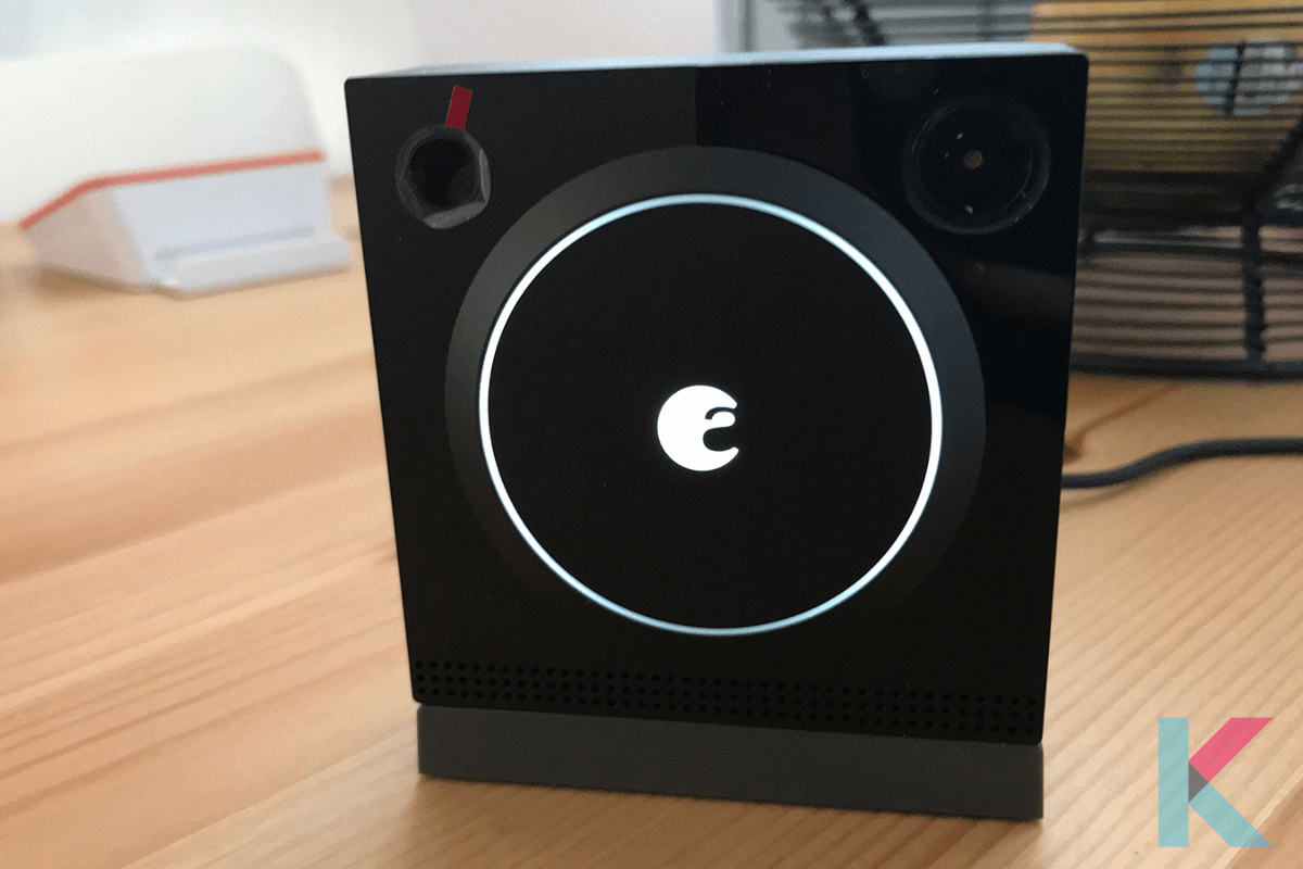 The August Doorbell Cam Pro, now in its second iteration, is an excellent companion to any August Smart Lock. In addition to your smartphone, the camera has an appealing industrial design and can stream a very simple picture to an Echo Show or Echo Spot.