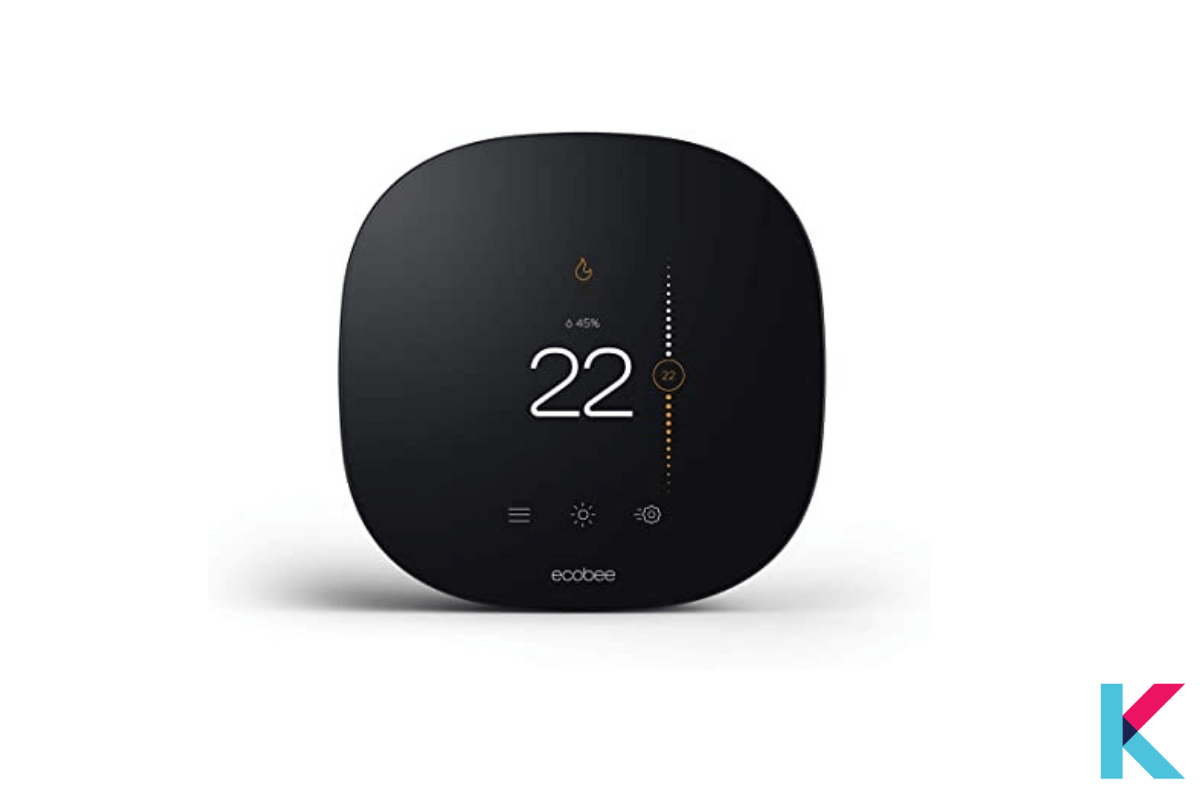 Ecobee Smart Thermostat is the best smart thermostat. It is integrated with Alexa, Apple HomeKit, Google Assistant, and SmartThings.