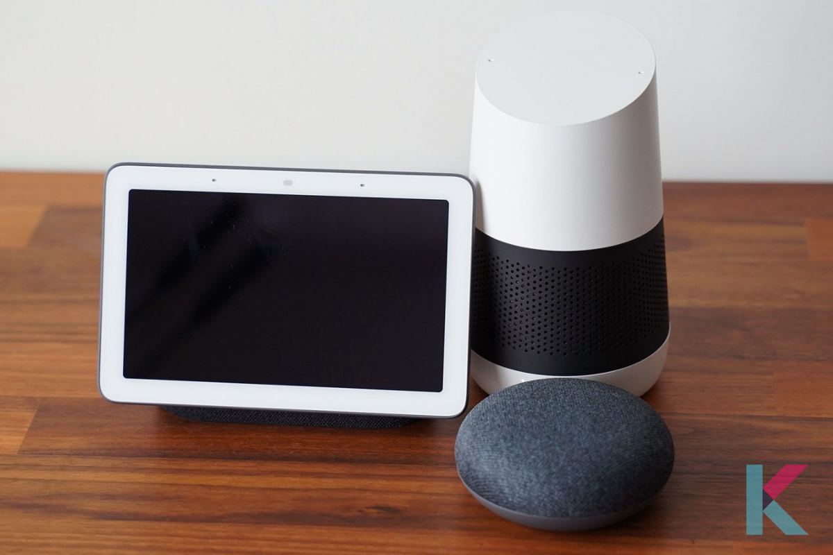 Google's Nest Hub Smart display is a good option for you. It is with a responsive touchscreen and works with Google Assistant.
