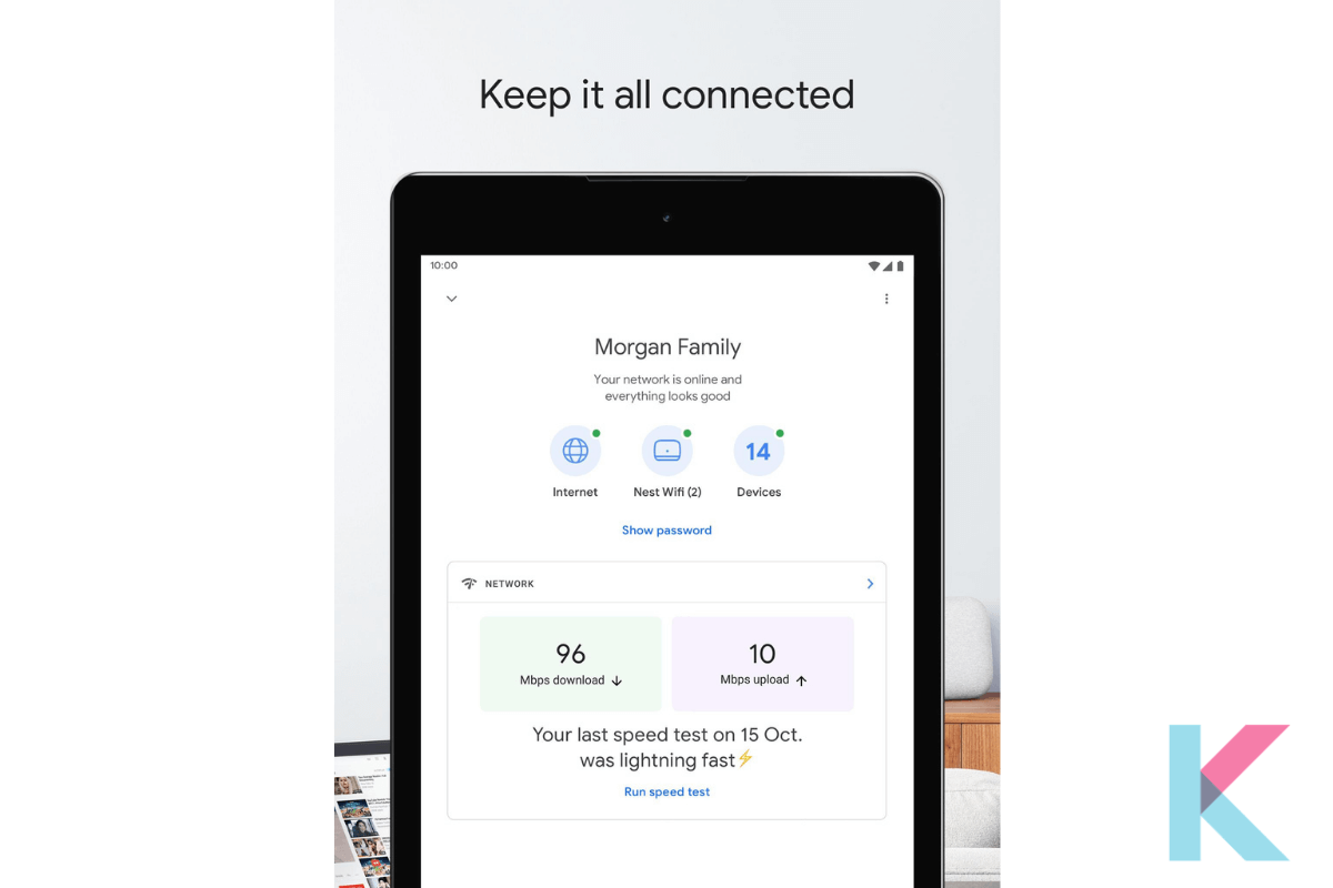 Install the Google Home app on your iPhone or Android device and go to Google Home and open it