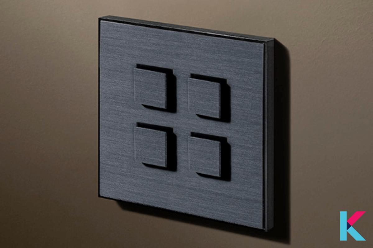 LITHOS KNX Keypads is a KNX keypad with several buttons with an extensive range of finishes.
