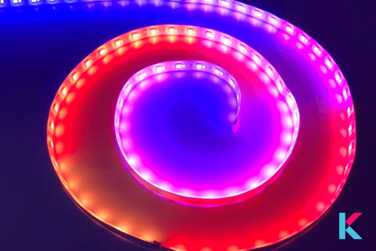 Lifx is the most popular when it comes to color-changing light strips. It is capable of putting out different colors at once.