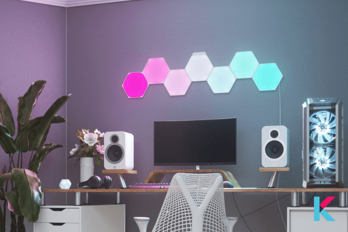 It has made a name for itself with interactive, eye-catching, and modular light panels with new shapes line. It is a good smart gadget even better with six-sided Hexagons.