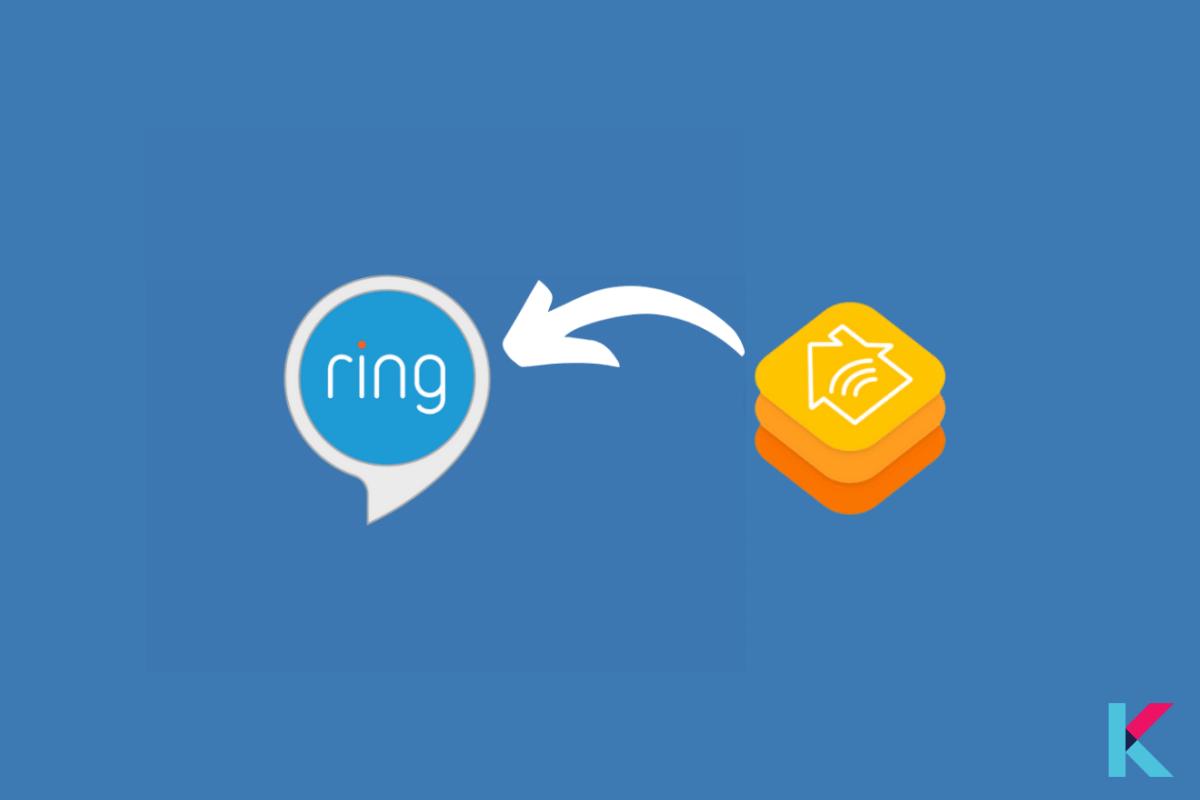 Ring work with Apple HomeKit
