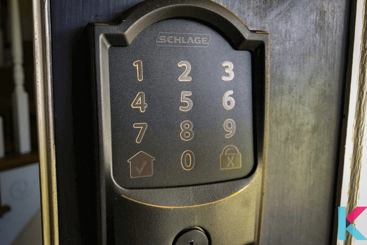 The Schlage Encode is our pick for the best smart lock with an alarm, as it will emit a deafening sound.