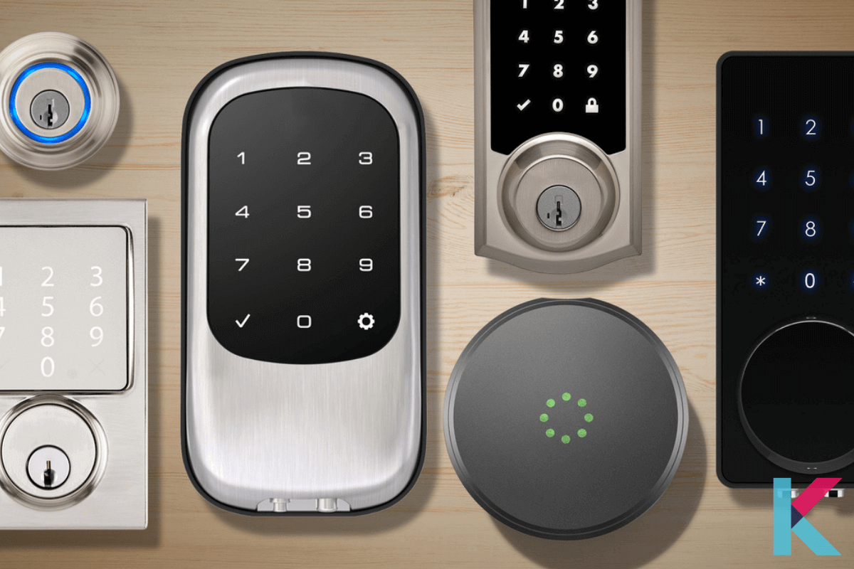 Smart lock transforms an ordinary lock into a keyless entry door lock to your home. It is an electronic lock that operates locking and unlocking functions when it receives instructions from an authorized device.