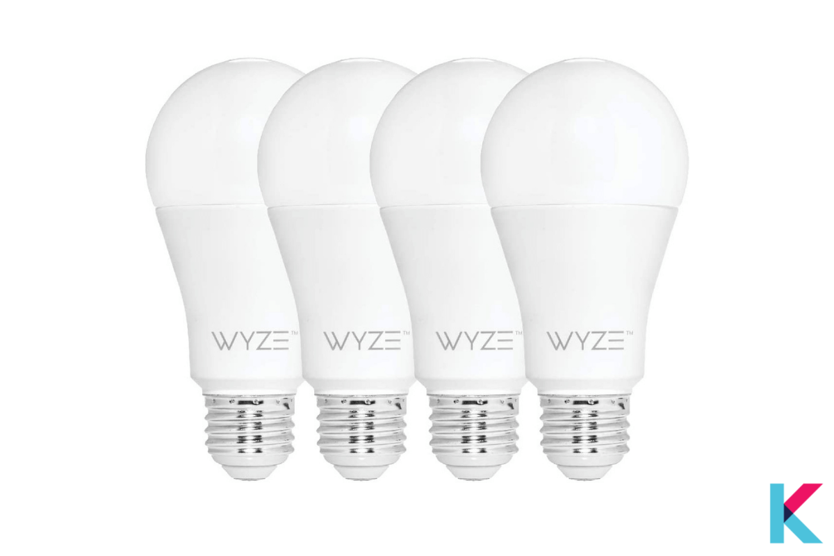 The Wyze Bulb is the most cost-effective Smart white color LED bulb we have ever seen.