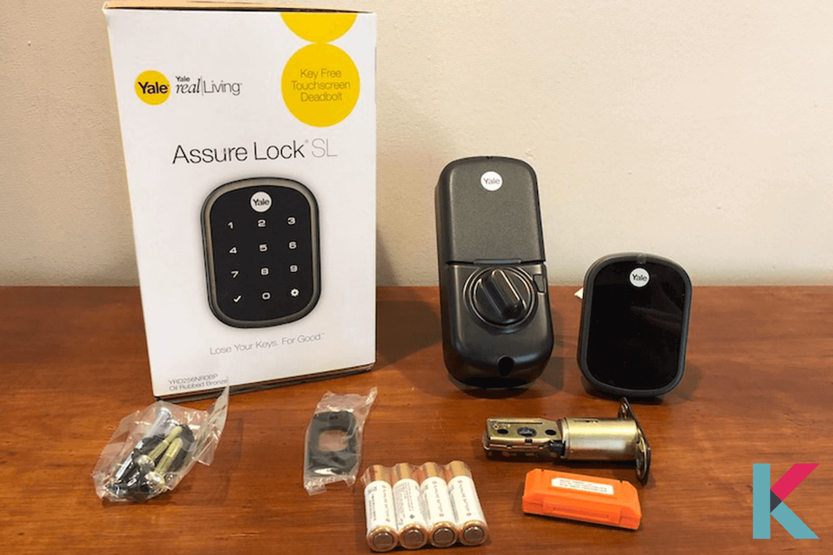 The Yale Real Living Assure SL is one of the best Smart Locks available because it supports numerous smart home standards.