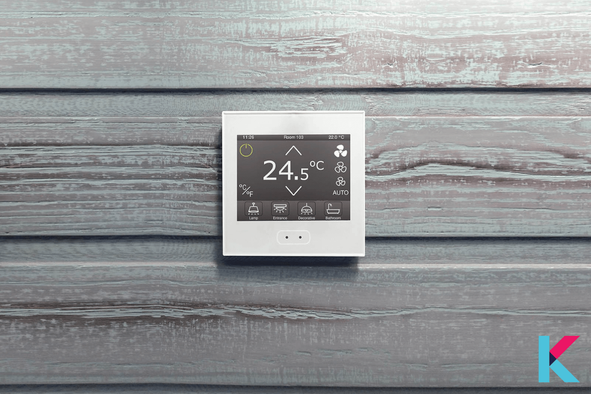 ZENNIO Z35 is a KNX touch screen with 7 pages of six functions. Also, it is available in silver, white, anthracite, and gloss white color.