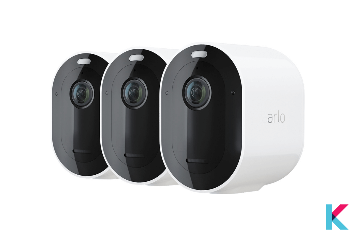 The Arlo Pro 4 Spotlight Camera is our overall top choice for watching what's going on outside without having to leave the safety of your sofa.