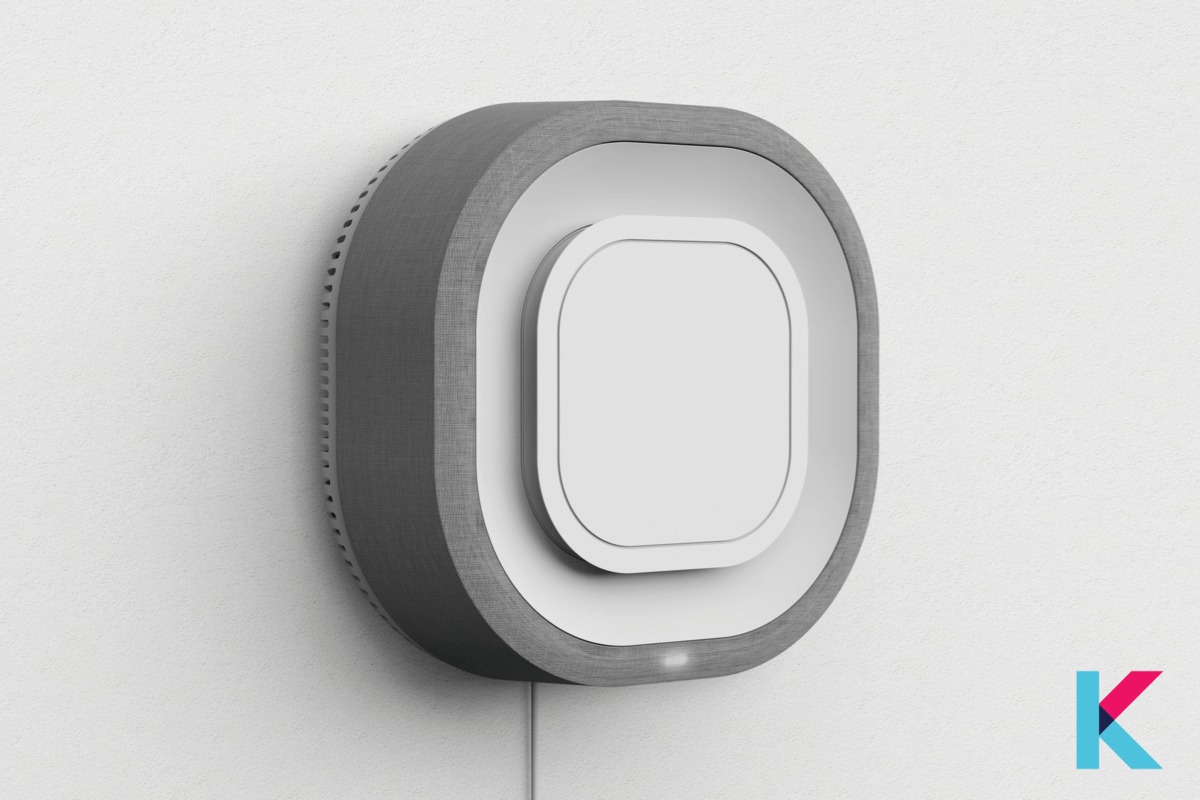 The Aura Air is a famous smart air monitor with a space-saving Wall mounted design.
