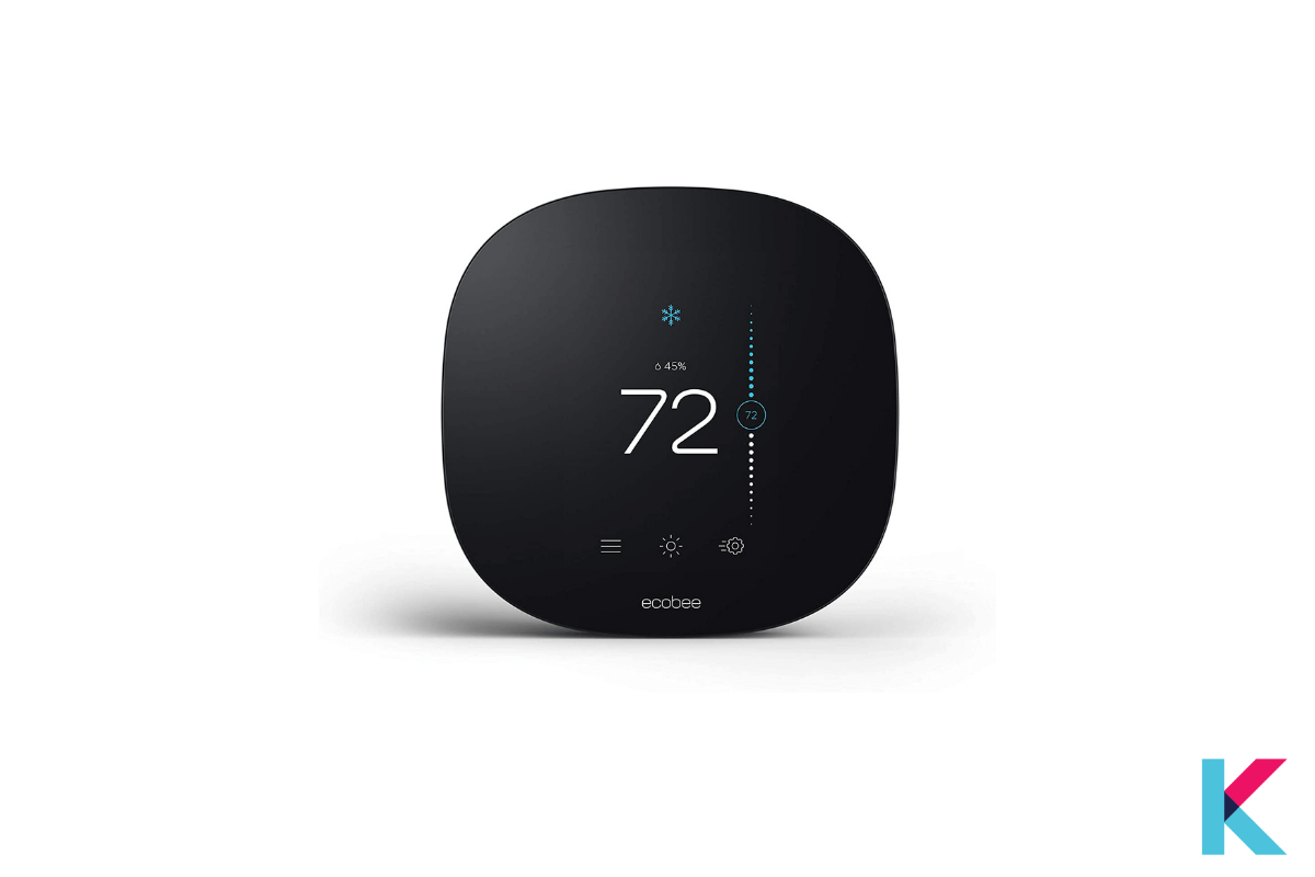 Do you want to control your room's temperature with your voice? Then the Ecobee Smart Thermostat is ready to help you.