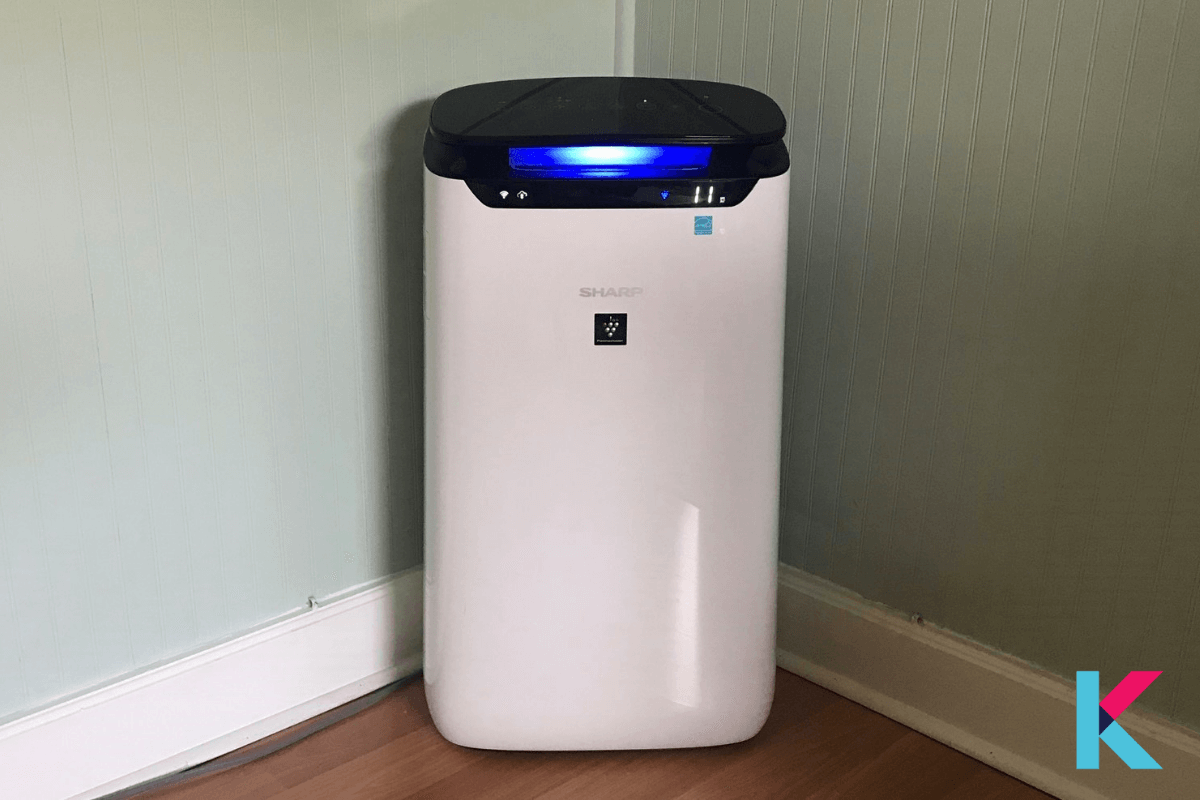 Sharp FXJ80UW Air Purifier is Wi-Fi-connected, Energy Star-certified air purifier, and it is the best one for rooms up to 502 square feet.