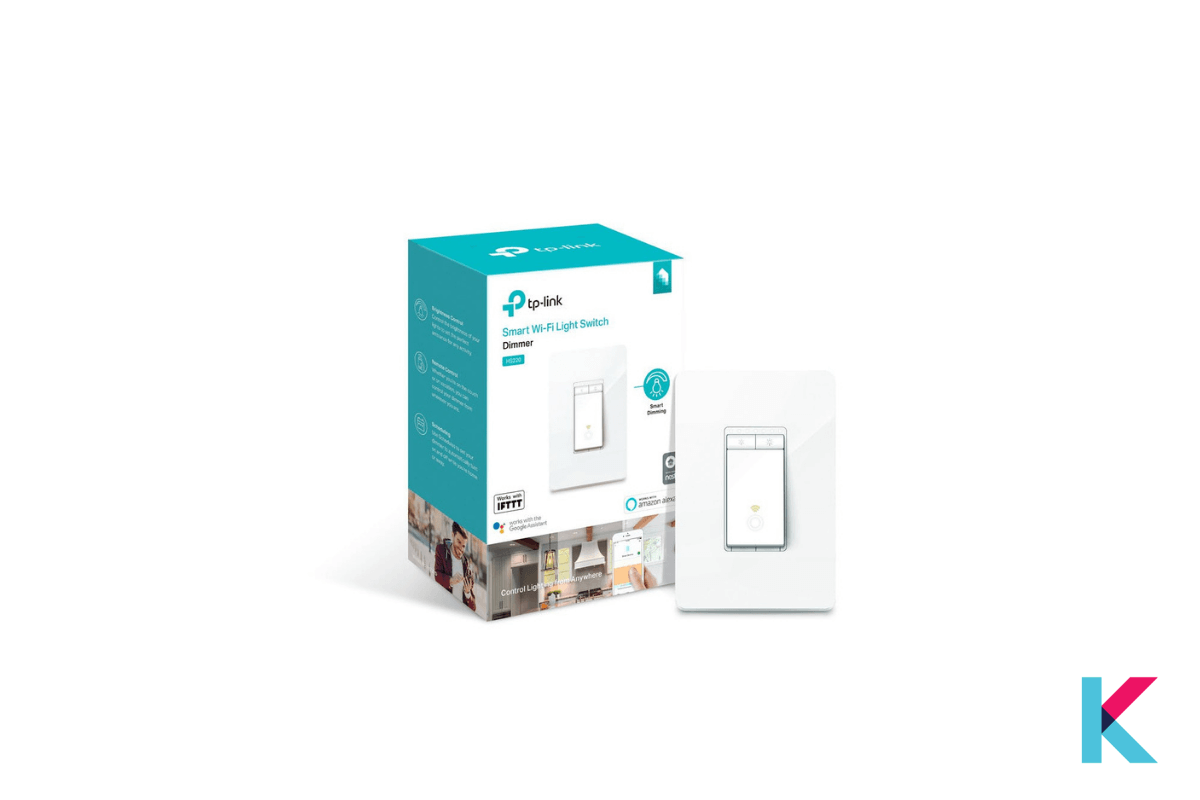 TP-Link Kasa Smart Dimmer Switch is the cheapest Smart Switch with fantastic feature