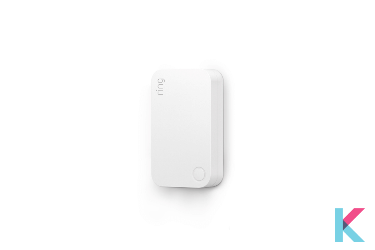 This Range Extender extends the signal from the Alarm Base Station to all its components. It indicates the button and light indicator with a slim profile.