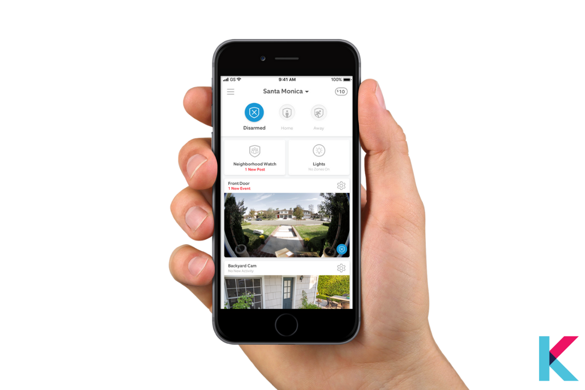 There is a mobile app and web app to monitor the system yourself. You can also subscribe to the Ring Protect Plus monitoring plan. Keep in mind.