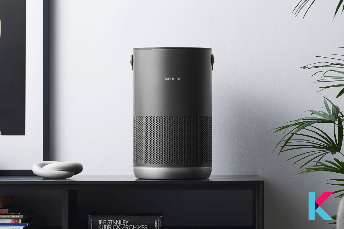 The Smartmi Air Purifier P1 is a more affordable Wi-Fi-enabled filtration and air monitoring device.