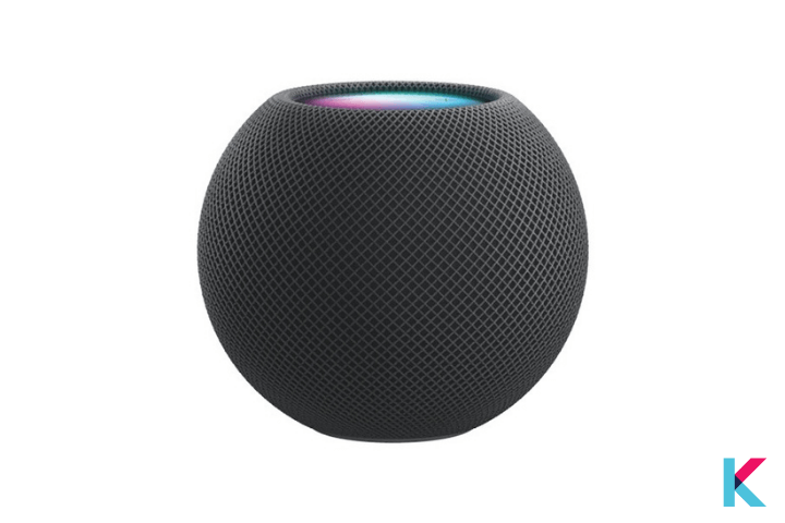 Apple HomePod mini is one of the best HomeKit compatible devices for you. It has a small attractive design like an Apple.