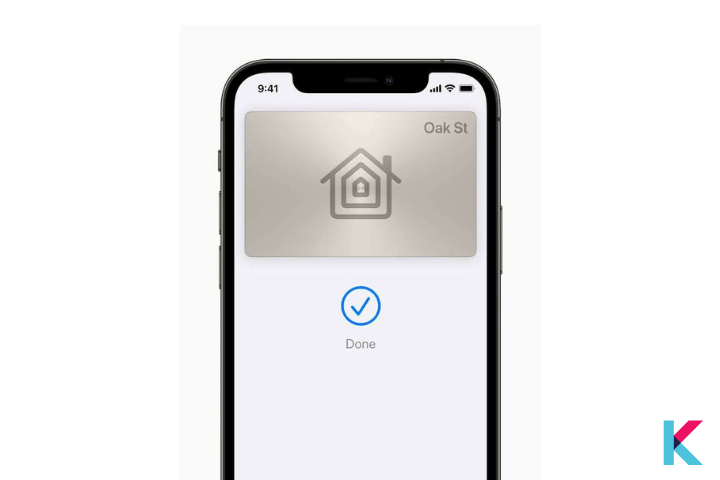 The Apple Home Key is a new feature of iOS 15 to your Smart Home.