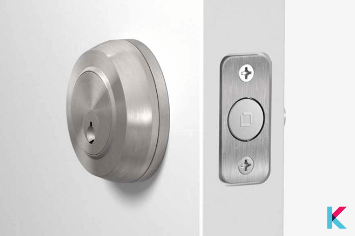 The Level Bolt is a great way to invisibly transform your existing deadbolt.