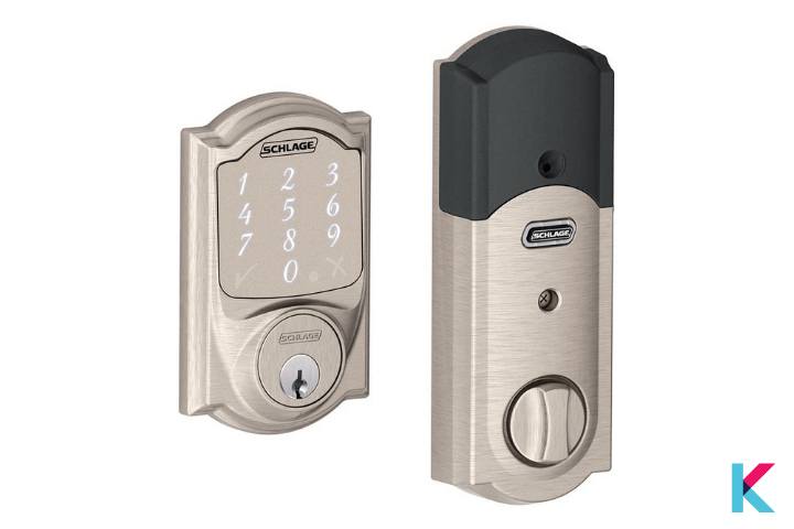 The Schlage Sense is the most popular smart lock on the market. It has a wide range of finishes and style options
