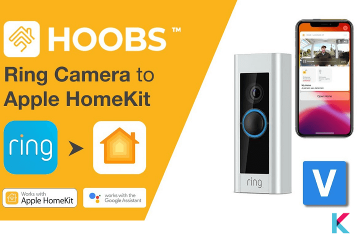Ring HOOBS plugin provides a platform for Ring camera, Ring Doorbell, Ring Alarm system, Ring lighting system, and 3rd party devices that connect to the Ring Alarm System.