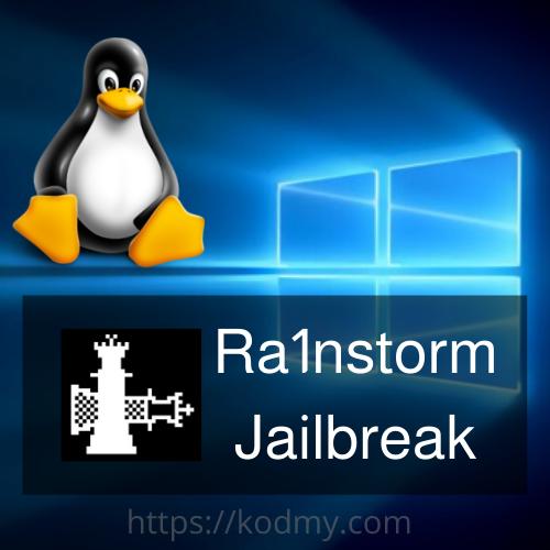 Ra1nstorm jailbreak