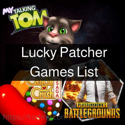 Lucky Patcher games 2020